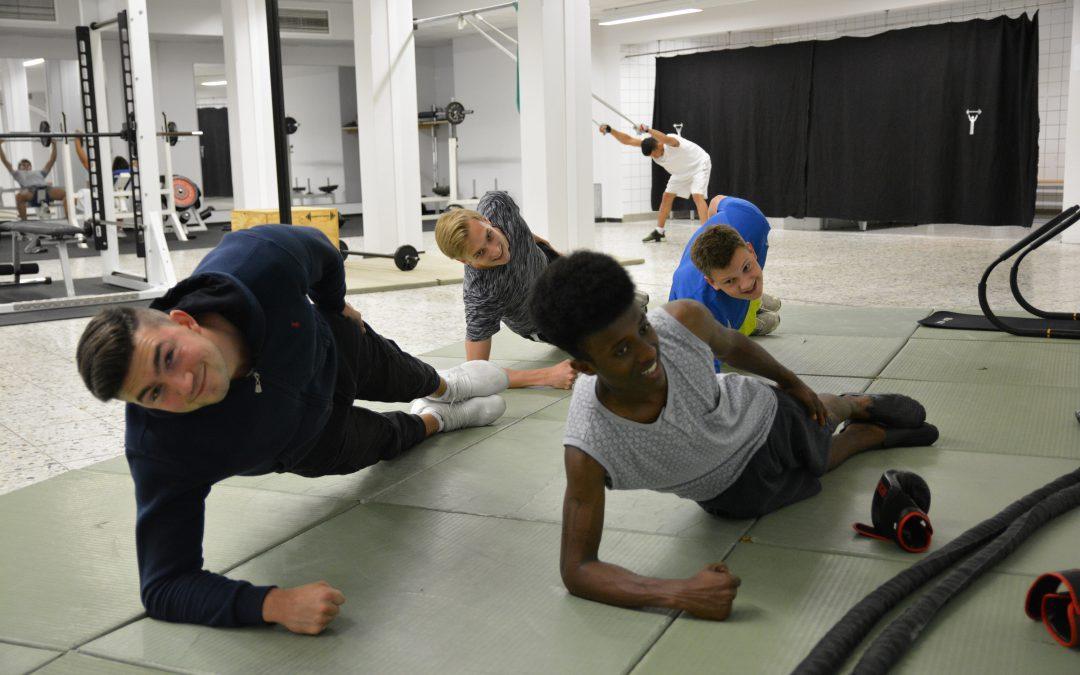 Fitness im Viertel – ein kostenfreies Fitnessangebot für Jugendliche zwischen 16 und 21 Jahren