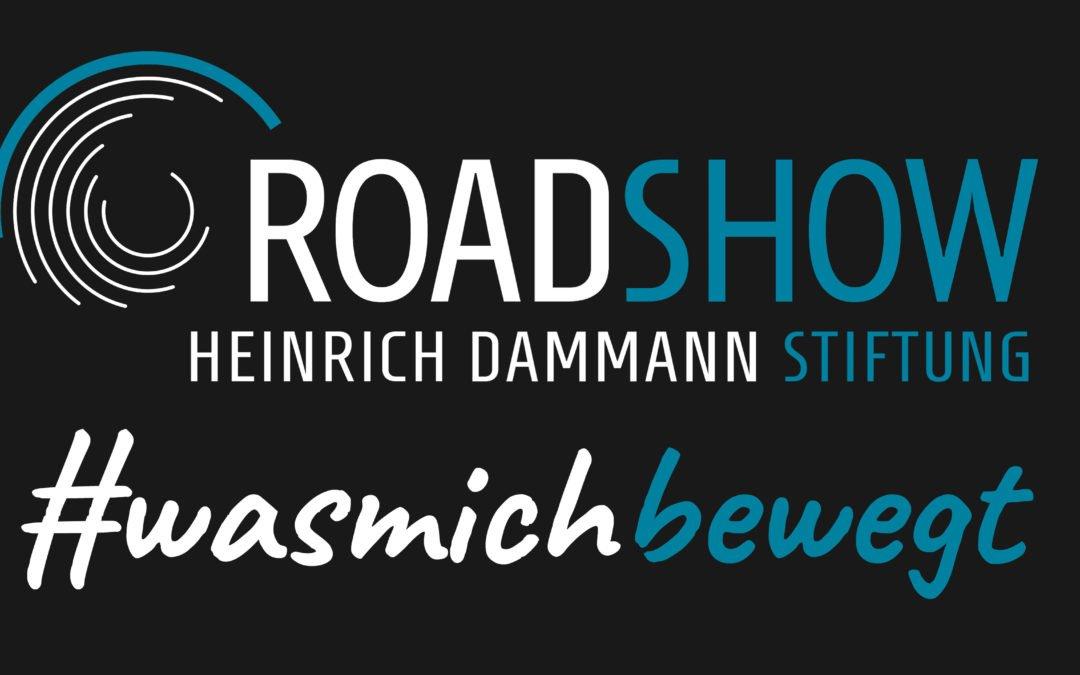 Die Heinrich Dammann Roadshow #wasmichbewegt tourt durch Niedersachsen