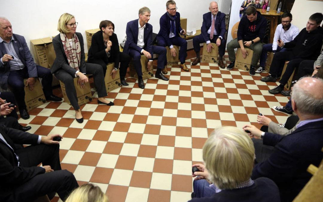 Herbstsitzung – Wechsel im Vorstand