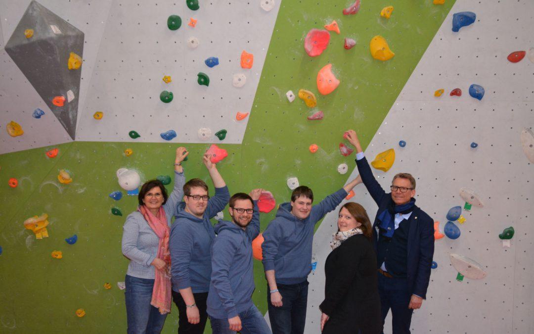 Der Startschuss für die Jugendcrew – Jugendliche fördern Jugendliche
