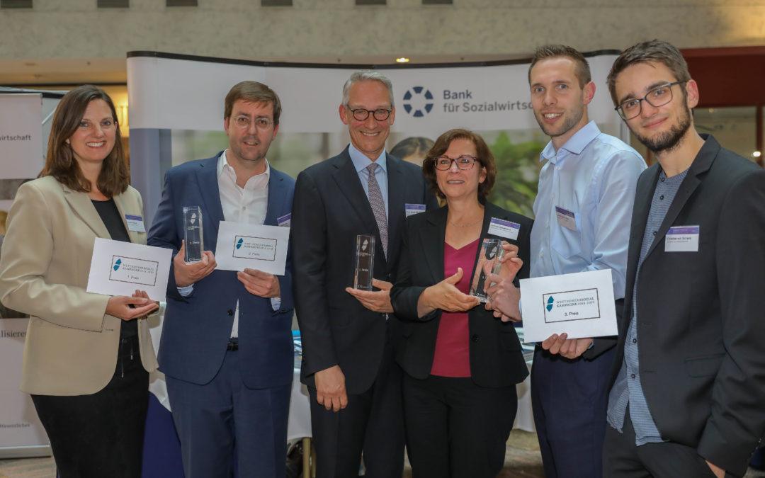 """3. Platz für """"Deine Suchtexperten"""" beim Wettbewerb Sozialkampagne der Bank für Sozialwirtschaft"""
