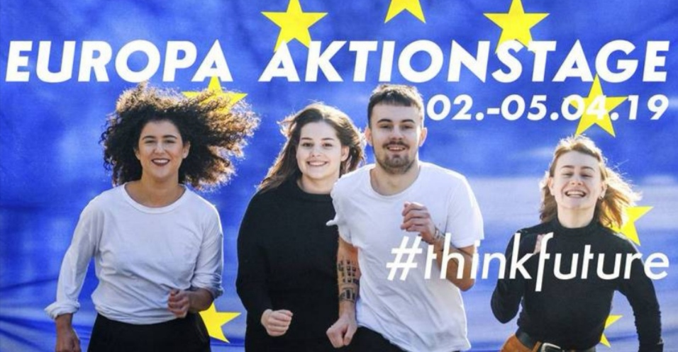 Die Europa Aktionstage – #THINKFUTURE