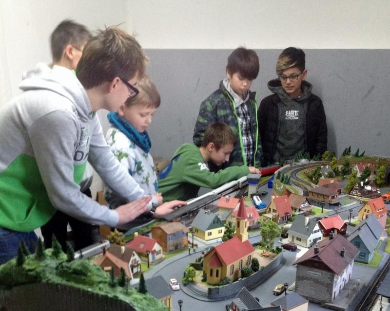 Modelleisenbahnprojekt EMMA der Ev. Jugend Marklohe