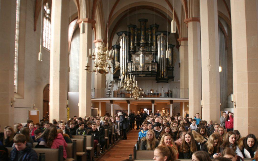 Evangelische Jugend schafft Frieden
