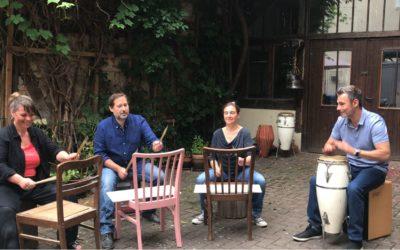 Kreativitätsfondue – Drums & Voice – Suchtprävention in Göttingen