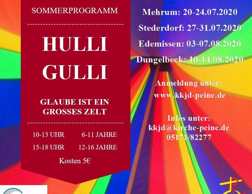 Kreativitätsfondue – Hulli Gulli – Das Sommerferienprogramm der Evangelischen Jugend Peine
