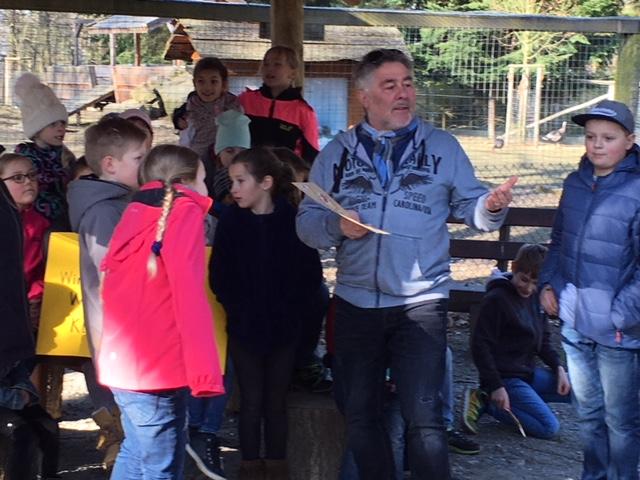 Führungen von Jugend- und Schulgruppen durch das Wildgatter in Hildesheim
