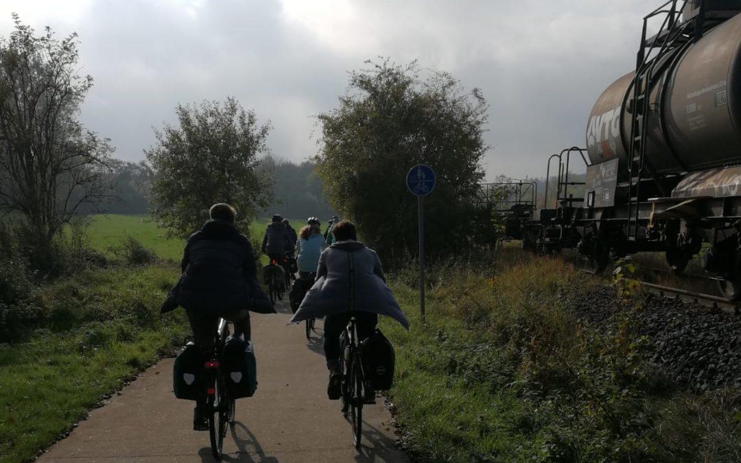 Kreativitätsfondue – Ökumenische Rad- und Erlebniswanderung von Hildeshein nach Göttingen